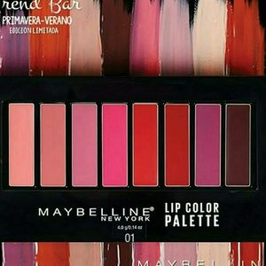 Maybelline Lip Color Pallete 8 Shades